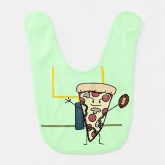 Happy Pizza Football Bibs