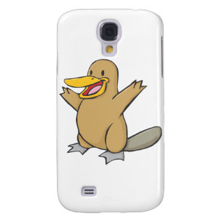 Happy Platypus Cartoon Samsung Galaxy S4 Cover