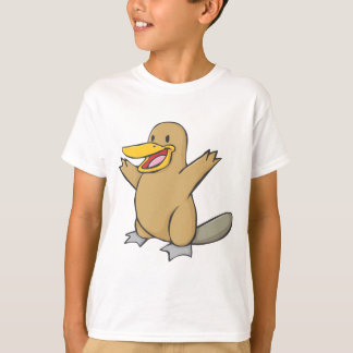 Happy Platypus Cartoon Shirts