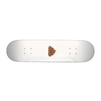 Happy poo custom skate board