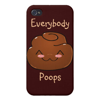 Happy Poo iPhone 4 Speck Case Case For The iPhone 4