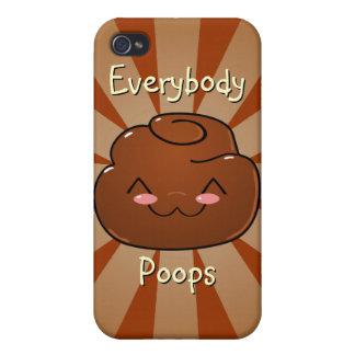 Happy Poo iPhone 4 Speck Case iPhone 4/4S Case