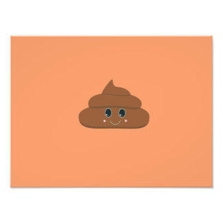 Happy poo photo art