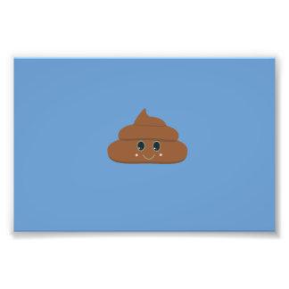 Happy poo photo print