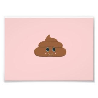 Happy poo photographic print