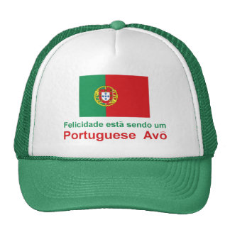 Happy Portuguese Avo (Grandfather) Cap