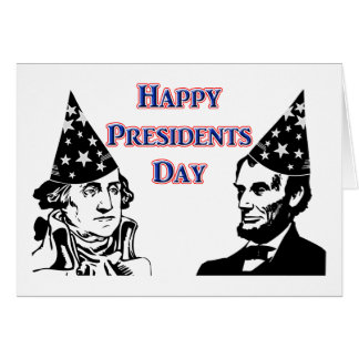 Happy Presidents Day Cards