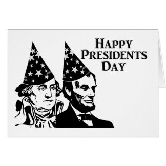 Happy Presidents Day Greeting Cards