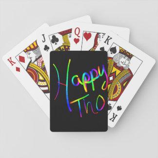 Happy pride poker deck