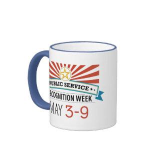 Happy Public Service Recognition Week Ringer Mug