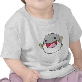 Happy Pufferfish Cartoon Shirt