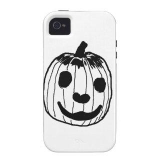 Happy Pumpkin iPhone 4/4S Case