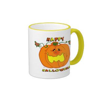 Happy Pumpkin Coffee Mugs