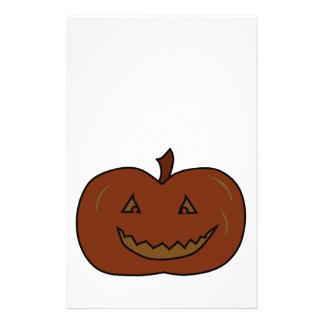 Happy Pumpkin Dark Colors Halloween Flyer