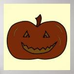 Happy Pumpkin. Dark Colours. Halloween.