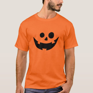Happy Pumpkin Face Costume T-Shirt
