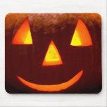 Happy Pumpkin Mouse Pad