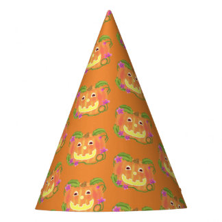 Happy Pumpkin party hat