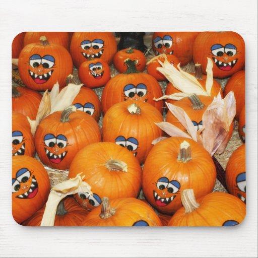Happy Pumpkin Patch Mousepads