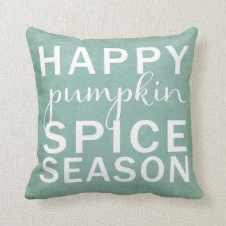 Happy pumpkin spice season cushion