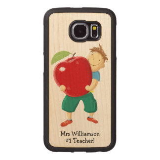 Happy pupil. Best Teacher! Personalised text! iPhone 6 Plus Case