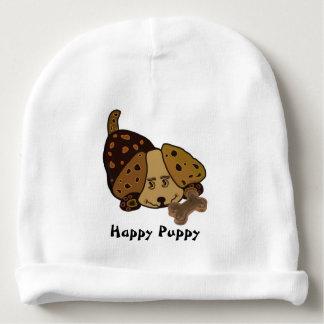 Happy Puppy Baby Beanie