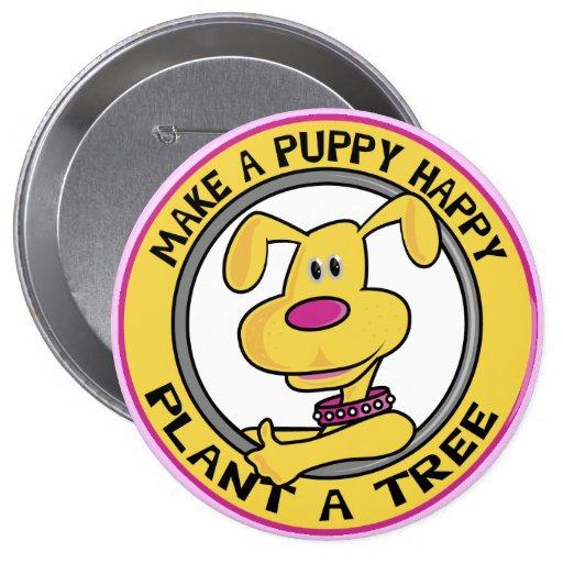Happy Puppy - Pins