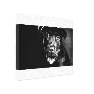 Happy Puppy Canvas Print