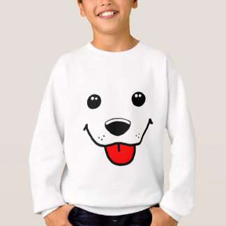 Happy Puppy Face Sweatshirt