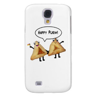 Happy Purim - customizable background color Galaxy S4 Case
