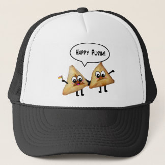 Happy Purim hamantaschen Trucker Hat
