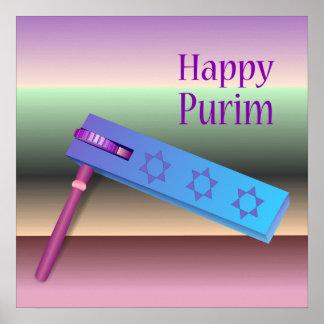 Happy Purim Poster
