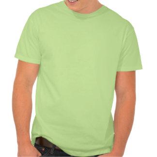 Happy Purple Monster; Green Tee Shirt