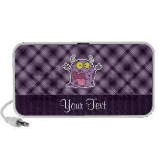 Happy Purple Monster; Purple iPod Speaker