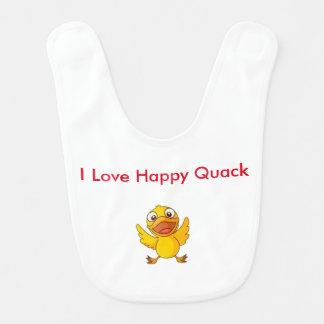 Happy Quack Baby Bib