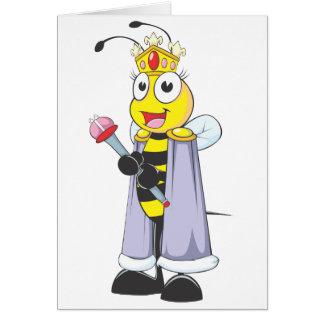Happy Queen Bee with Queen Clothing Card