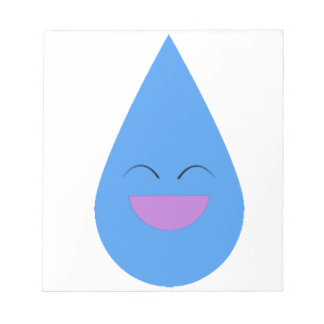 Happy Rain Drop Notepads