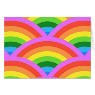 Happy Rainbow Card