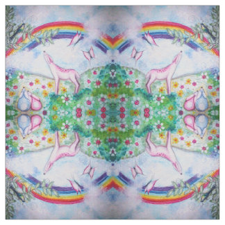 Happy Rainbow Fabric