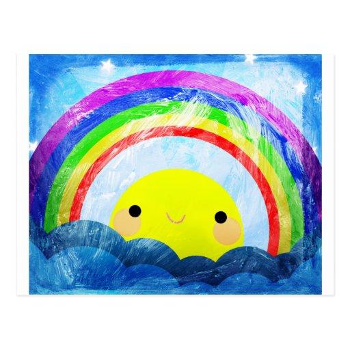Happy Rainbow Postcards