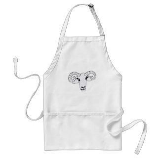 happy ram adult apron