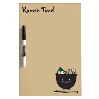 Happy Ramen Bowl Dry Erase Board