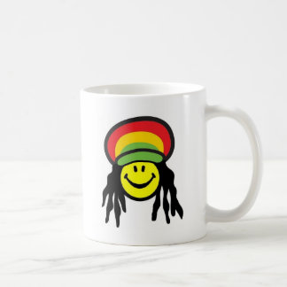 Happy Rastafarian face Coffee Mug