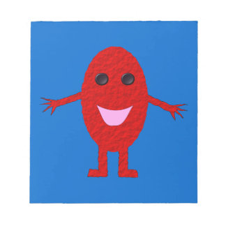 Happy Red Grape Notepad