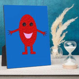Happy Red Grape Plaque