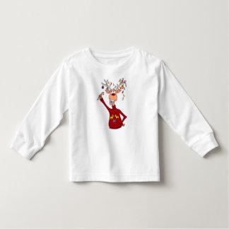 Happy Reindeer Toddler T-Shirt