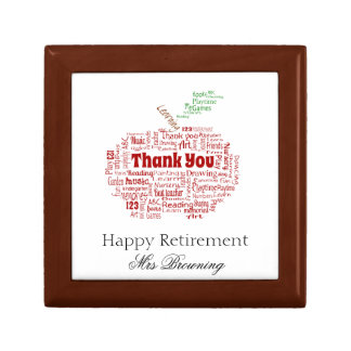 Happy retirement gift gift box