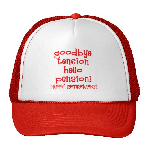 Happy Retirement! Tshirts and Retiree Gifts Hat