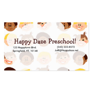 Happy Retro Kids Too Pack Of Standard Business Cards