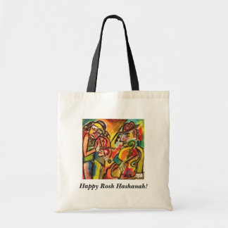 Happy Rosh Hashanah Gift/Tote Bag - Klezmer Band